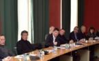 Premier conseil d'administration de l'office des Transports de Corse