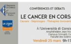 Tous contre le Cancer, vendredi, à l'université de Corte