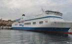 La MCM repeint ses navires en rouge et blanc, aux couleurs de Corsica Linea !