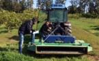 San Giulianu : Les futurs tractoristes agrumiculteurs ont passé leur première évaluation