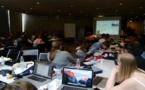 Corte : Workshop au Musée de la Corse pour les élèves de l'Ecole Supérieure des Arts de Bruxelles