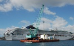 Port d'Ajaccio : Livraison et installation du nouveau coffre du quai des Capucins