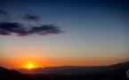 Time-lapse du coucher de soleil sur le Valinco : Un spectacle sans cesse renouvelé