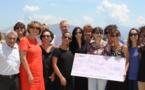 Ajaccio : EDF fait un don de 2 060€ à la Marie Do grâce aux meilleures initiatives de ses salariés