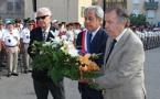 Cérémonie au Monument aux Morts, remise de décorations et décret de naturalisation pour le 14 juillet à Calvi