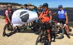 Le Vélo Club Fium'Orbu en terre cathare