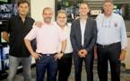 Inauguration de l'enseigne Pulsat à la ZA de Corbara