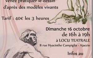 Atelier de dessin d'après modèles vivants dirigé par Gilles Charbin