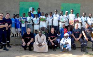 Les écoles du Fium'Orbu, l'US Ghisonaccia et la BA Ventiseri-Solenzara solidaires des élèves de N'Djamena