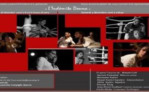 « L'Indòmita Donna », samedi 3 décembre, 20h30 à Locu Teatrale