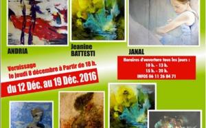 Exposition Andria, Jeannine Battesti, Janal à l'espace Casanova à Lupino
