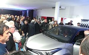 Monti-Autos Toyota souffle ses 20 bougies et dévoile le C-HR