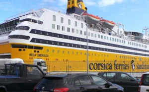 Parti de Toulon Mardi, le Mega Smeralda accostera jeudi matin à Bastia