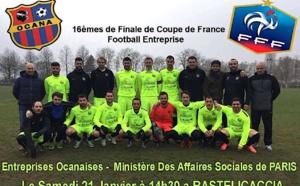 Coupe de France Football-entreprise : ASDE Ocana-Ministère des Affaires sociales à Bastelicaccia