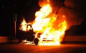 Ajaccio : Une voiture détruite par un incendie