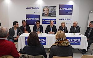 Le directeur de campagne de Marine Le Pen en Corse  : Le Front National en ordre de marche