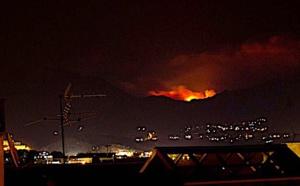 Violent incendie à Bastelica : 40 ha dévastés, trois véhicules détruits, cinq pompiers blessés