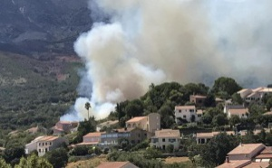 Nombreuses mises à feu dans la région bastiaise : 4 hectares détruits sur les hauteurs de Furiani