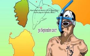 Défi : « Le dauphin corse » va tenter la traversée à la nage entre l'île de Monte Cristo et Bastia