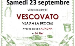 Vescovato : Soirée des jeunes agriculteurs de Haute-Corse
