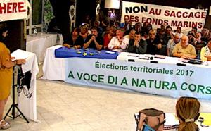 """Elections Territoriales : """"A voce di a natura corsa"""" présentée à Biguglia"""