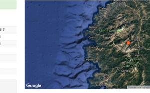 Un séisme de magnitude de 3,1 ressenti dans le Centre-Corse
