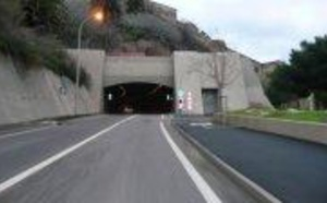 Le tunnel de Bastia momentanément fermé