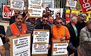 Nouvelle mobilisation jeudi à Bastia contre les ordonnances Macron