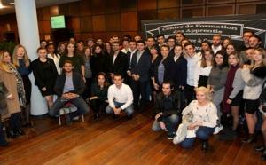 Ajaccio : Remise des diplômes du CFA Commerce et Gestion de l'Institut consulaire