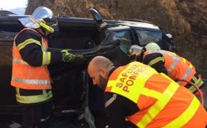 Accident à Ostriconi : La conductrice sérieusement blessée
