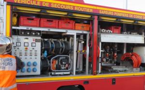 Ajaccio : Deux blessés après une collision moto - piéton