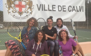Les filles du Tennis-Club de Calvi championnes de Corse