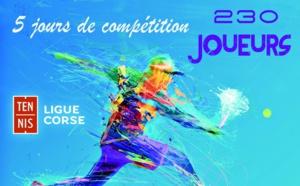 Les championnats de Corse de tennis à Calvi : Une manne financière importante pour l'économie locale