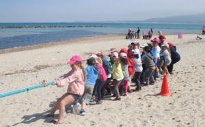 Les enfants du CIAS de L'Ile-Rousse hôtes de l'ALSH de Calvi