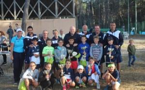 Championnats de Corse de tennis à Calvi : Les enfants sur la planète Galaxie