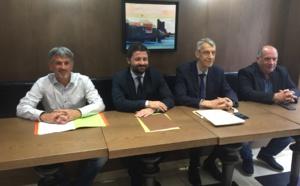 Jean-Félix Acquaviva et Michel Castellani, députés de la Haute-Corse, ont présenté leur colloque du 21 juin à Paris