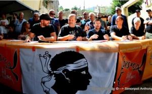 Conférence de presse de Corsica Libera du 14 juillet