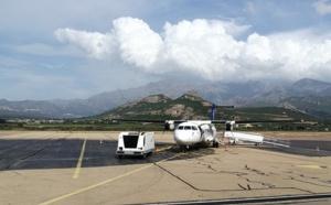 Un avion d'Air Corsica bloqué à Calvi en raison d'une tempête à Nice !