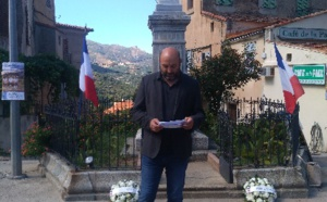 Lionel Mortini, maire de Belgudè.
