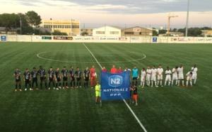 Pas de vainqueur dans le derby Furiani (en noir) FCBB (en blanc)