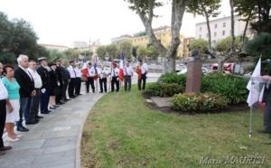 Ajaccio : Cérémonie hommage à Pierre Griffi héros de la résistance