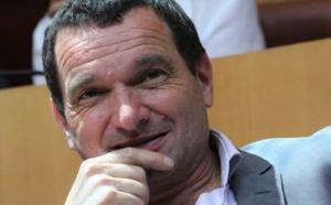 Hyacinthe Vanni, président du groupe Femu a Corsica et vice-président de l'Assemblée de Corse. Crédit photo M.L.