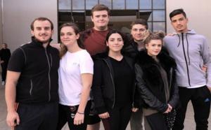 Sept des onze jeunes qui participeront aux Olympiades des métiers