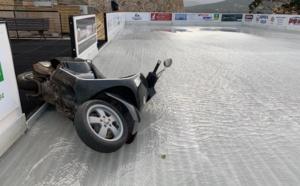 Dérapage incontrôlé sur la... patinoire de Calvi !