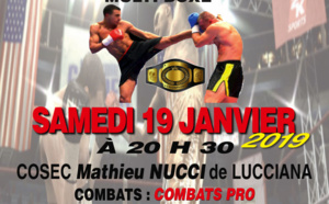Kick Boxing : Gala du KBC Lucciana ce samedi