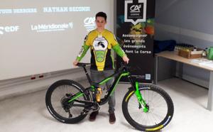 Enduro World Series VTT : la quête du titre mondial pour Nathan Secondi