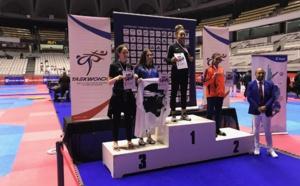 Exploit pour la Bastiaise qui s'est hissée sur la 3ème marche du podium des championnats de France