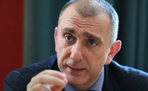 Jean-Christophe Angelini, leader du PNC, conseiller exécutif et président de l'ADEC. Photo Michel Luccioni.