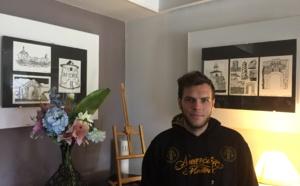 Bastia : Mathieu Iglesis expose ses illustrations sur la Corse