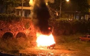 Encore une voiture incendiée à Calenzana !